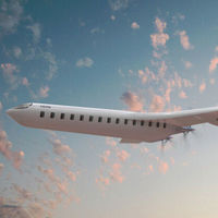 Este curioso concepto de avión eléctrico se basa en la eficiencia y no en la velocidad para que nos replanteemos cómo viajamos