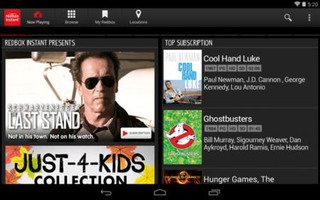 Redbox Instant ahora también es compatible con Chromecast
