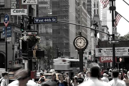 Nueva York, donde Uber podría estar quitándole clientes... ¿al metro?