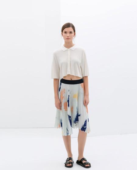 Zara faldas primavera moda 2014