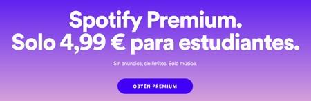 Spotify Estudiantes