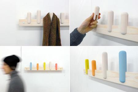 Sticks, la sencillez hecha perchero