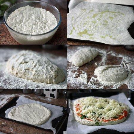 Hacer Receta de pizza de pan à l´ancienne