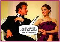 Natalie Portman niega tener una relación con Sean Penn