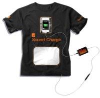 Orange te pone una camiseta que se alimenta del sonido de los conciertos