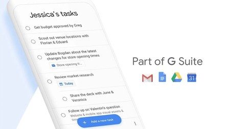 Subtareas en Google Tasks