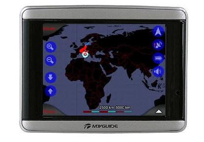 GPS Myguide 3300