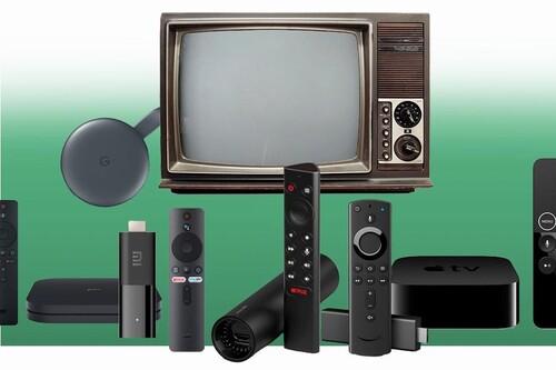 Convertir tu vieja TV en toda una Smart TV es simple y cuesta muy poco dinero: Chromecast, Xiaomi Mi Box, Fire TV, Apple TV y más