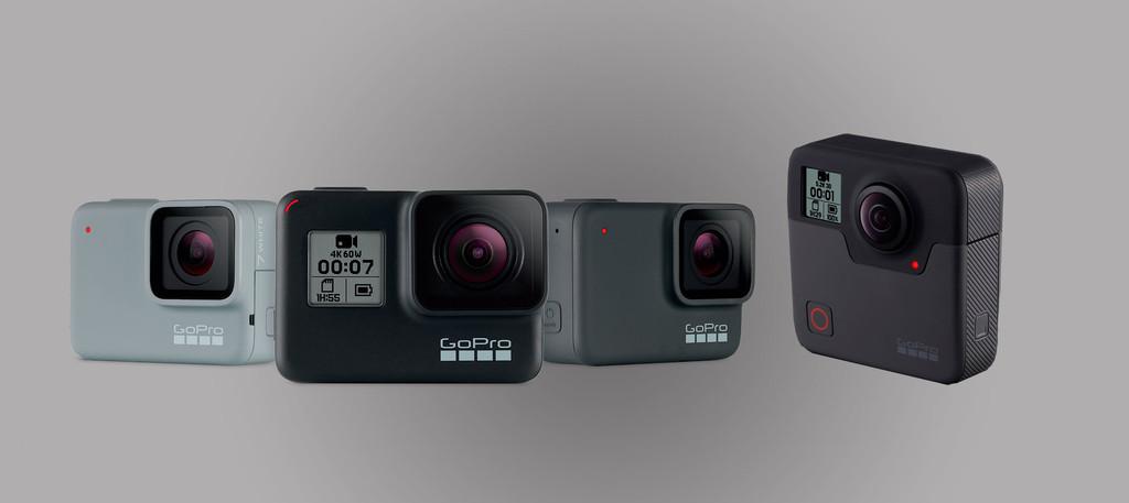GoPro HERO7 Black, Silver, White y GoPro™ Fusion: graba vídeo 4K incluso diez metros de profundidad u 360 grados a 5,2K