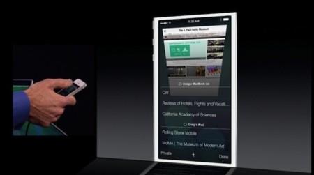 Safari iOS 7 iCloud