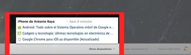 Foto de Google Chrome en iOS (5/15)