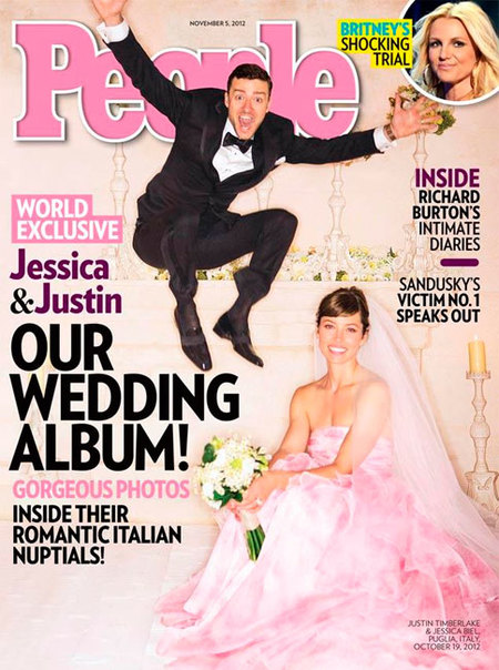 ¡Pero qué cachondas las fotos de la boda de Justin Timberlake y Jessica Biel!