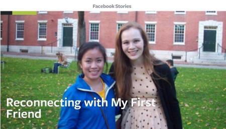 ¿Tienes una historia interesante? Cuéntasela a Facebook