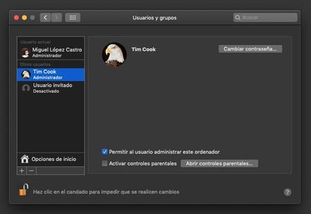 Perfiles Usuario Mac