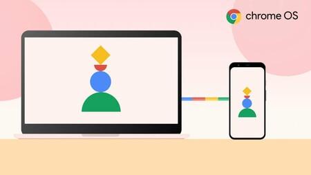 Google trabaja en una función para conectar Android 12 y Chrome OS similar al Handoff de Apple: espejar apps y contestar llamadas