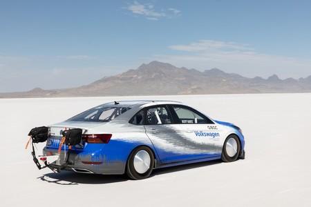 Volkswagen Jetta Bonneville Record De Velocidad 1