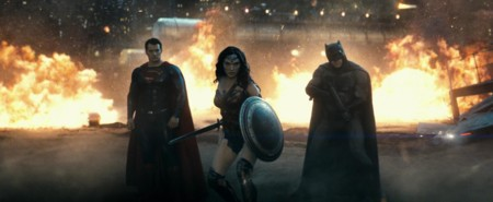 Superman, Wonder Woman y Batman