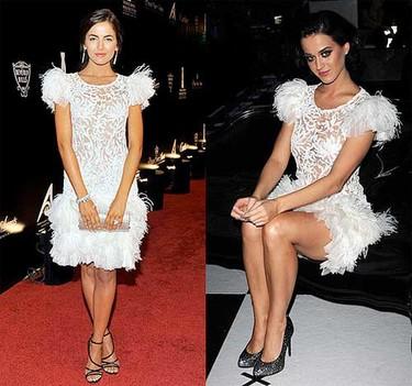 Vestido de Marchesa:¿Camille o Katy?