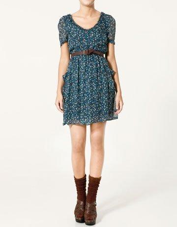 Rebajas 2011: Zara vestidos de flores