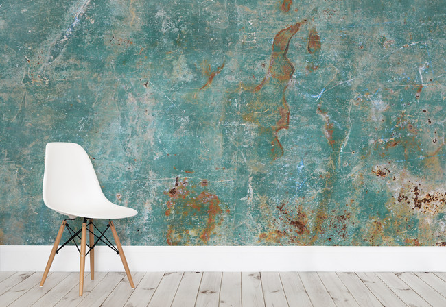 Teal Verdigris Chair