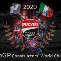 Ducati gana el mundial de marcas de MotoGP, su primer título en trece años, tras el abandono de Joan Mir