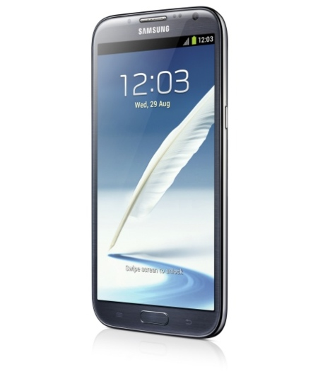 Galaxy Note II semiperfil