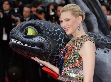 La alfombra roja de Cannes se viste de largo para el estreno de How to Train Your Dragon 2