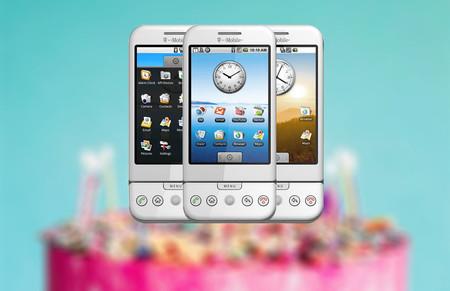 Se cumplen 10 años de Android: imágenes, vídeos y curiosidades de la primera versión del sistema operativo de Google