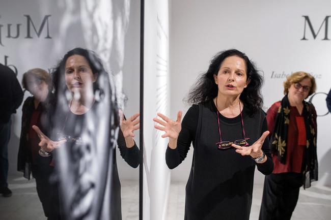 Isabel Muñoz Inauguración de 'Mujeres del Congo'