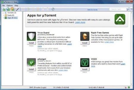 µTorrent ahora con tienda de aplicaciones