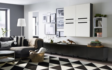 12 Salones Ikea