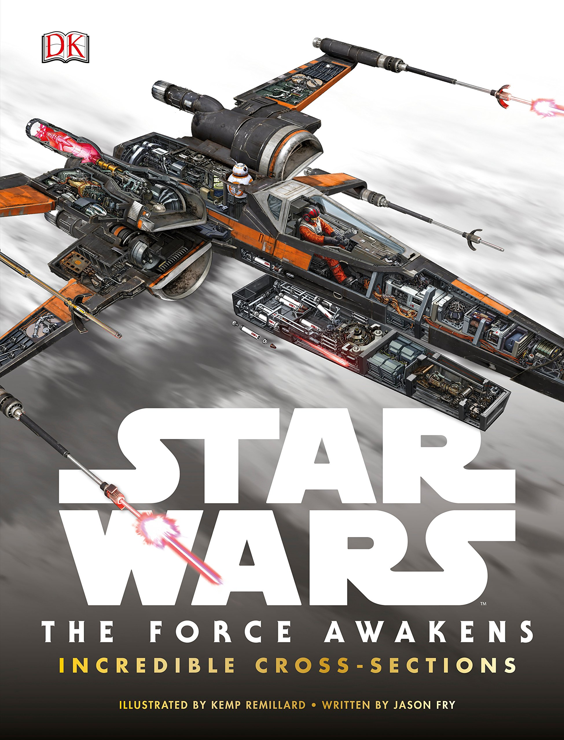 Star Wars: The Force Awakens Incredible Cross-Sections (Inglés) Pasta dura