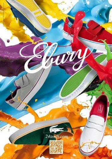 Lacoste Ebury Collection: la colección de calzado más primaveral de Lacoste