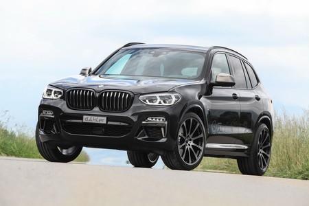 El preparador alemán Dähler lleva la versión más potente del nuevo BMW X3 hasta los 420 CV
