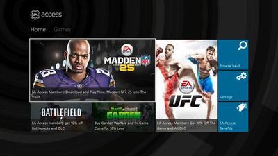 Con EA Access podremos acceder a los juegos de EA en Xbox One mediante un modelo por suscripción