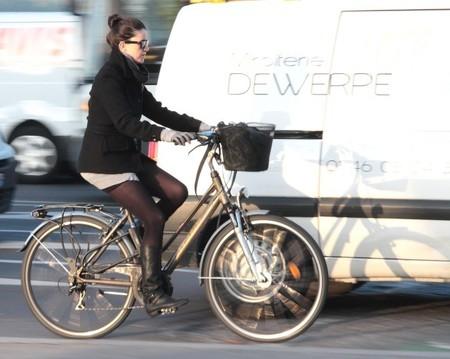 Bicicleta trabajo en Francia
