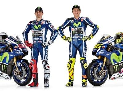 Presentación del Movistar Yamaha Team en Barcelona