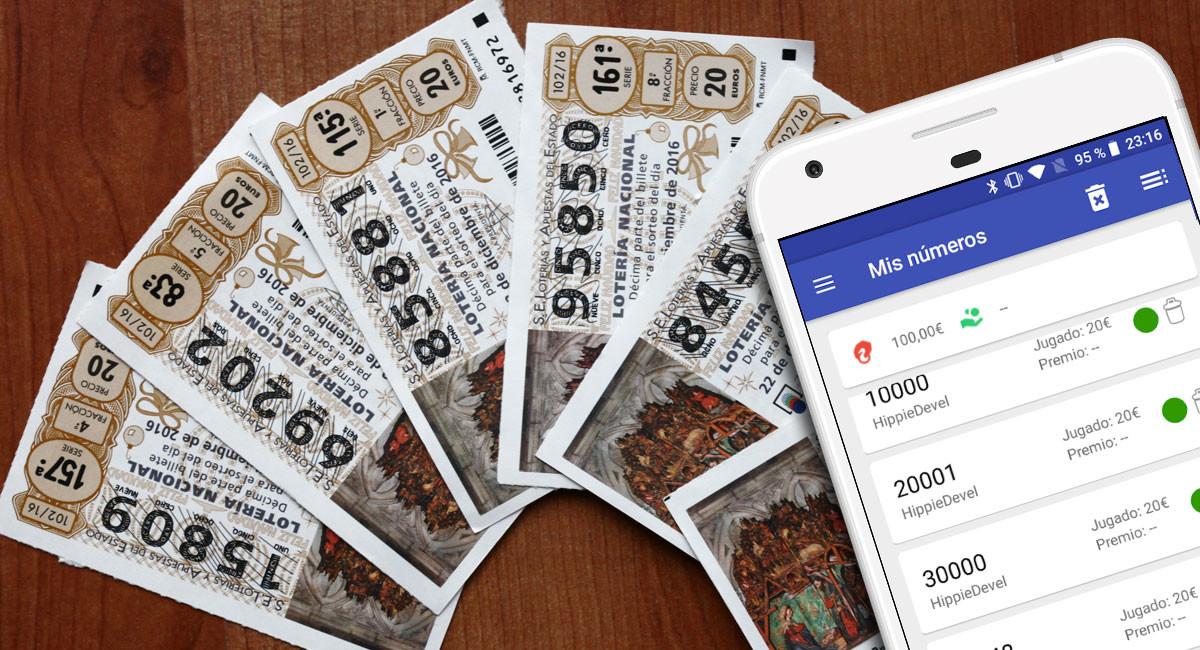 Cómo comprobar los números de la Lotería de Navidad 2018 con un móvil Android