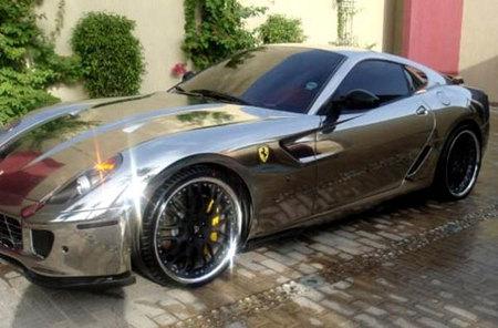 Ferrari 599 GTB Fiorano cromado