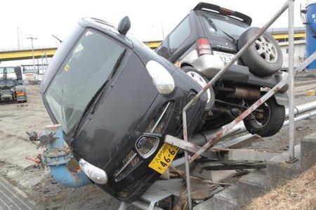 Subaru y Mitsubishi arrastrados