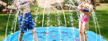 Cómo refrescar una terraza pequeña para el calor: juegos acuáticos para niños y otras ideas