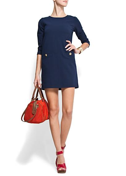 vestido marinero mango