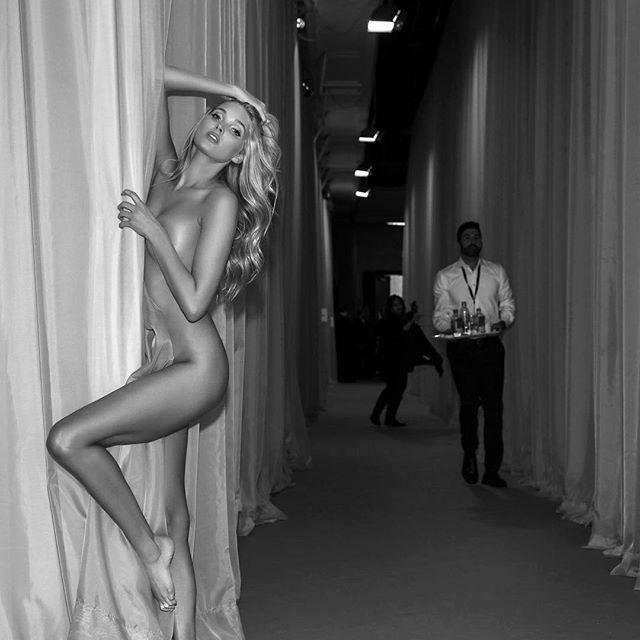 Victorias Secret Modelos Instagram Desfile 2015 Desnudo 1