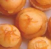 Mandarinas rellenas