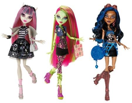 Monster High volverá a convertirse en el regalo estrella de las Navidades 2012