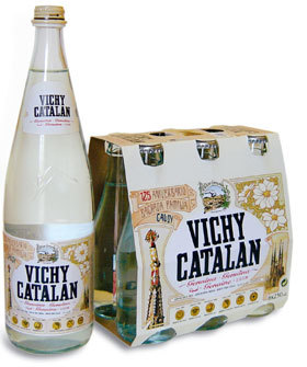 Vichy Catalán homenajea en sus botellas a Gaudí