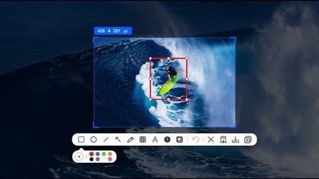 Xnip es una app gratuita para macOS que te permite hacer capturas de pantalla con scroll o de ventanas individuales