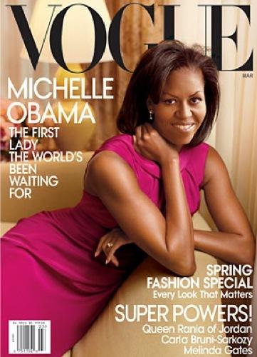 Todas las imágenes de Michelle Obama para Vogue por Annie Leibovitz, portada