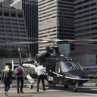 Los viajes de Uber en helicóptero serán una realidad en Nueva York el mes que viene, desde 200 dólares