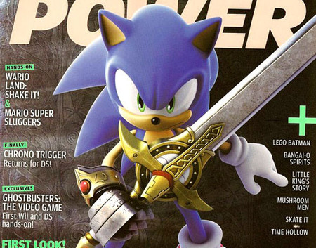 El erizo azul regresa a Wii con 'Sonic and the Black Knight'